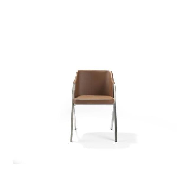Hnědá židle Ángel Cerdá Dining