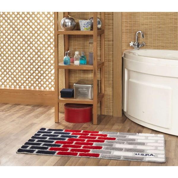 Koupelnová předložka US Polo Brick, 60x100 cm