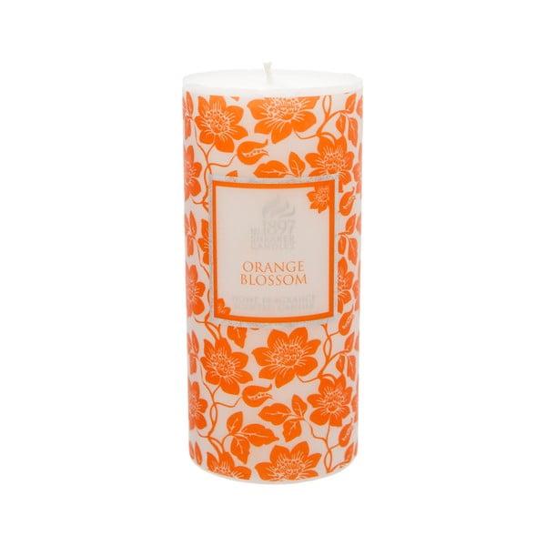 Vonná svíčka Pillar 100 hodin hoření, aroma pomeranč
