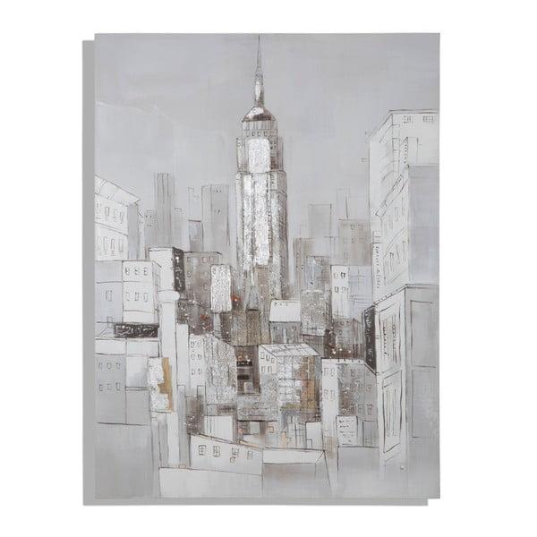 Tablou pictat manual Mauro Ferretti Dipinto Su Tela Roofs, 90 x 120 cm