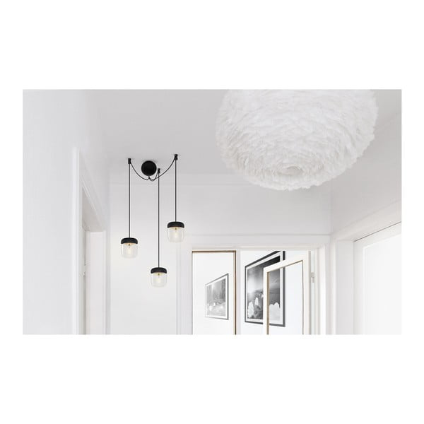 Cablu suspensie triplă pentru corpuri de iluminat VITA Copenhagen, negru