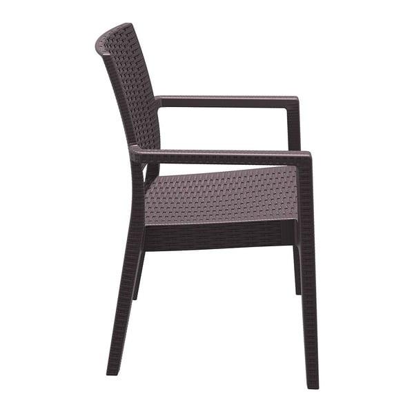 Židle Ibiza, hnědá