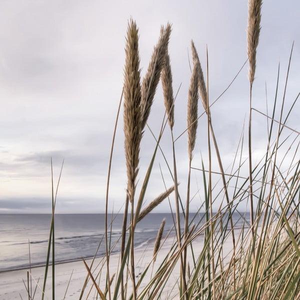 Skleněný obraz Seaside View, 20x20 cm