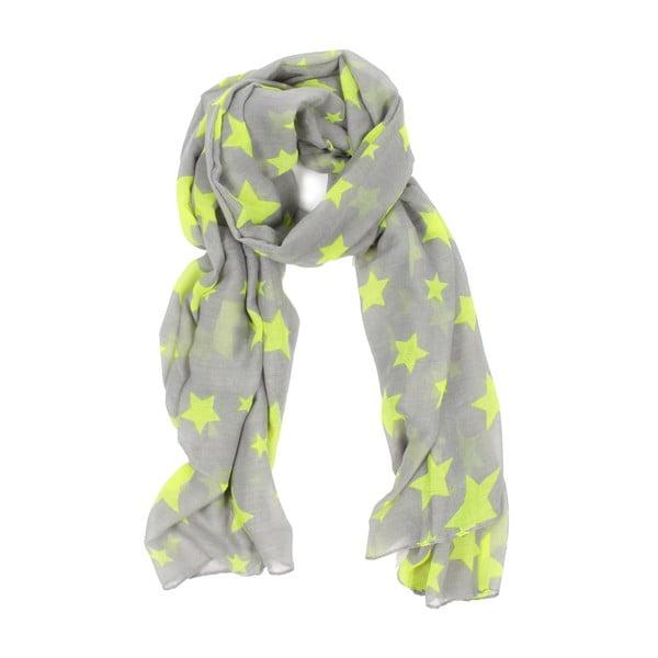 Šátek Bohemia Star Light Yellow