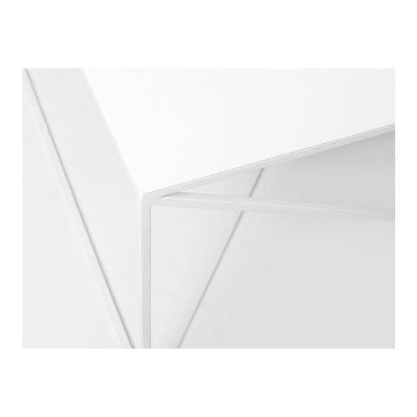 Bílý konferenční stolek Custom Form Memo, 100x100cm