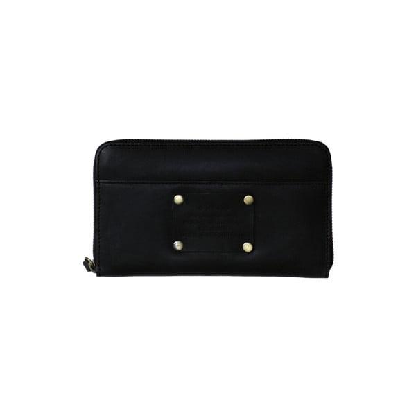 Kožená peněženka O My Bag Miss MoneyPenny, černá