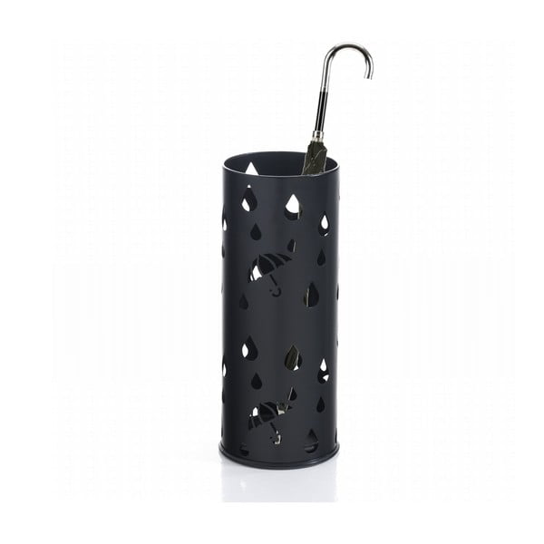 Černý stojan na deštníky Tomasucci Dew