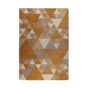 Hnědo-krémový koberec Flair Rugs Nuru, 80 x 150 cm