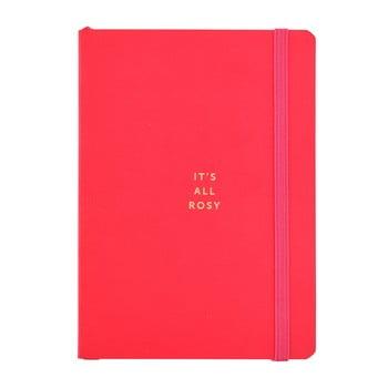 Agendă Busy B, A6, 96 file, roșu imagine