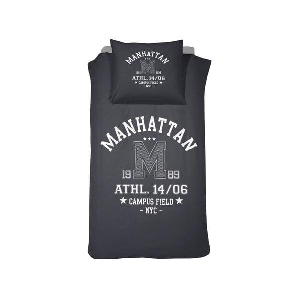 Povlečení Manhattan Blue, 140x200 cm