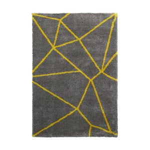 Covor Think Rugs Royal Nomadic Grey & Yellow, 120 x 170 cm, gri - galben