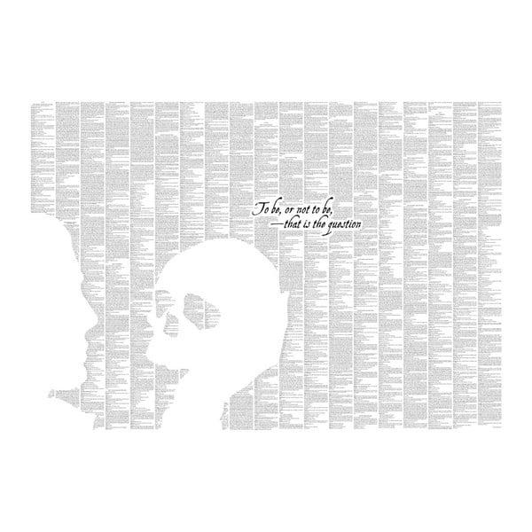 Knižní plakát Hamlet, 70x50 cm