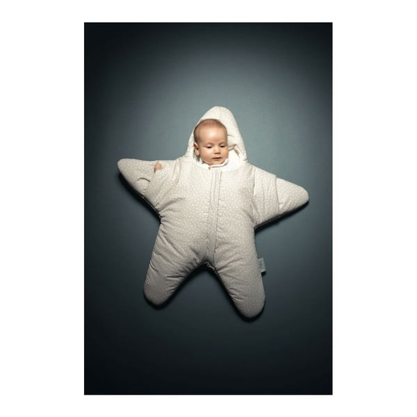 Dětský spací vak Star Beige