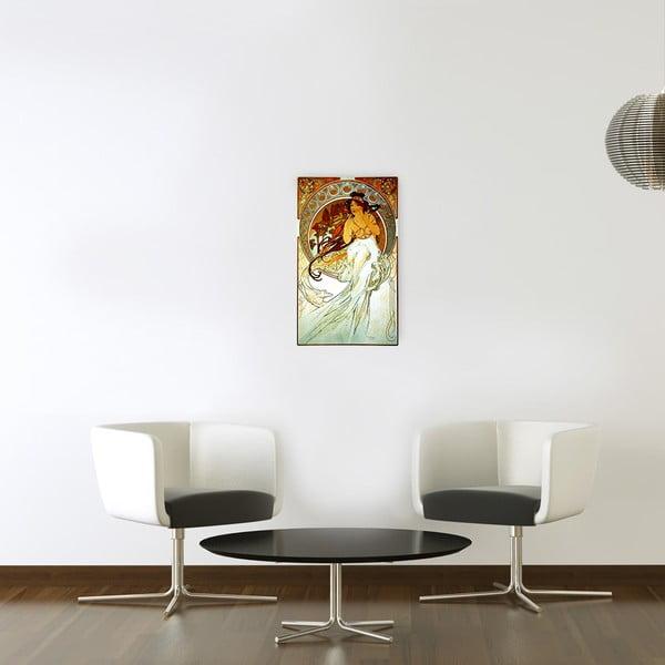 Obraz Mucha - Music, 30x50 cm