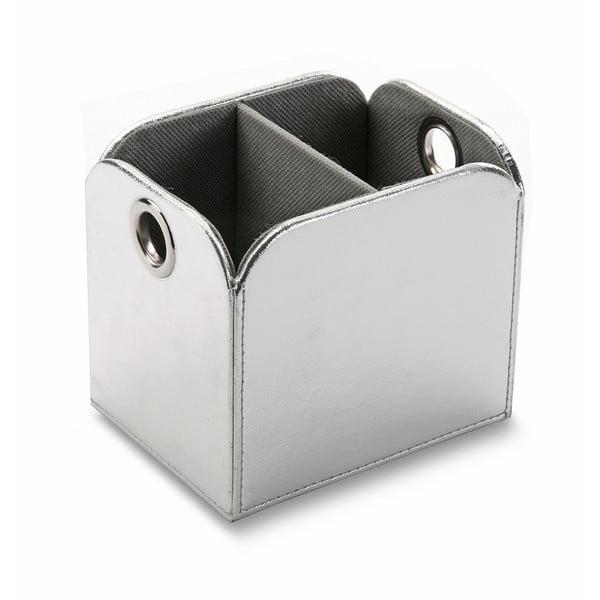 Odkládací box na ovládače Silver Remote