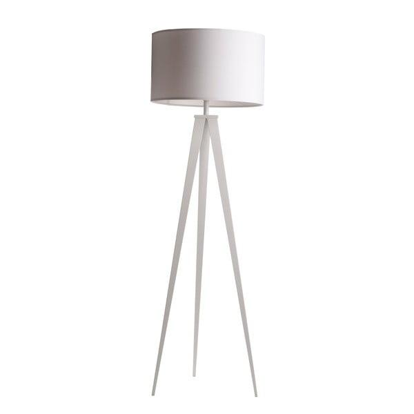 Lampadar Zuiver Tripod, ø 50 cm, alb
