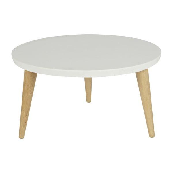 Konferenční stolek z borovicového dřeva De Eekhoorn Elin,Ø50cm