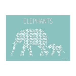 Plakát Puntíkatí sloni