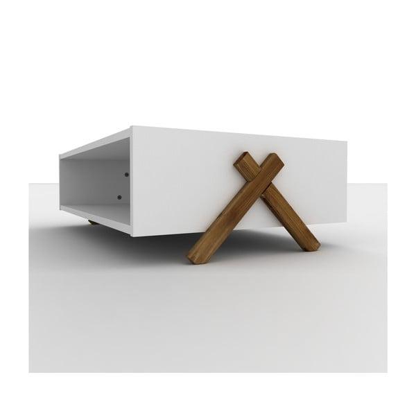 Bílý konferenční stolek Rafevi Kipp