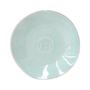 Tyrkysový kameninový talíř na pečivo Costa Nova Nova,⌀16 cm