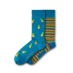 Sada 2 párů ponožek Black&Parker London Dalton, vel.37-43