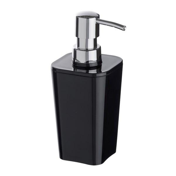 Černý dávkovač mýdla Wenko Candy, 330 ml