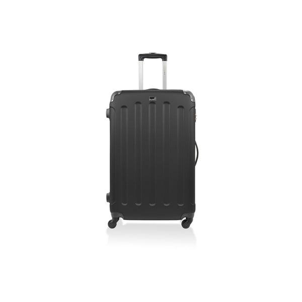 Sada 3 černých cestovních kufrů na kolečkách Bluestar Thompson