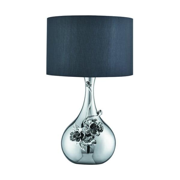 Stolní lampa Flowers, chrom