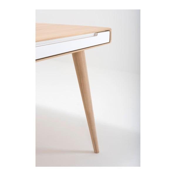 Jídelní stůl z dubového dřeva Gazzda Ena Two, 140x90x75cm