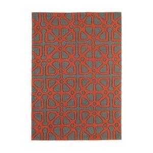 Červenošedý  koberec  Asiatic Carpets Harlequin Floorist, 170 x 120 cm
