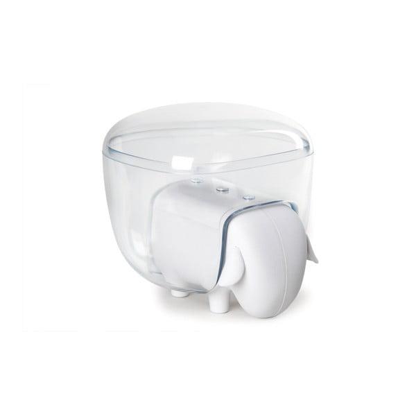 Biały wielofunkcyjny pojemnik w kształcie owieczki Qualy&CO Sheepshape Container