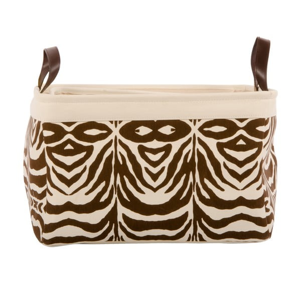 Sada 3 košíků Brown Zebra