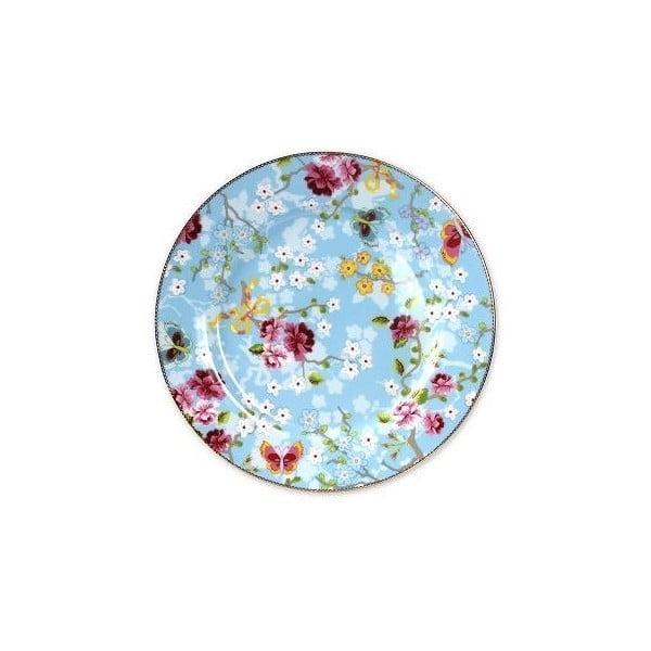 Velký talíř 32 cm, modrý