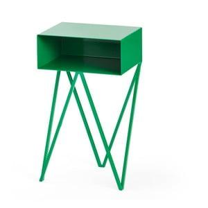 Zelený noční stolek &New Mini Robot