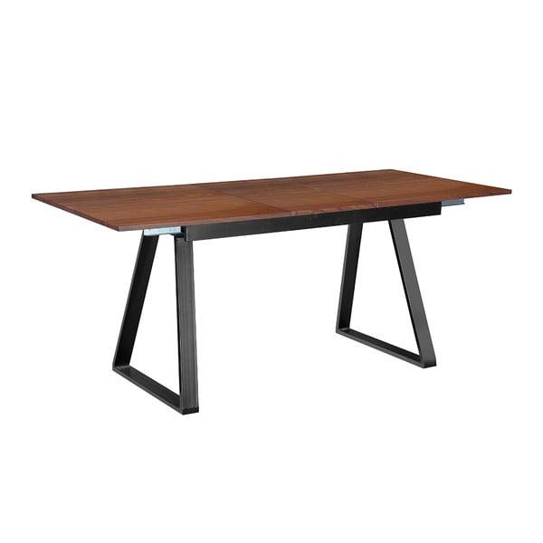 Rozkládací jídelní stůl Discovery, 140-180 cm, tmavý