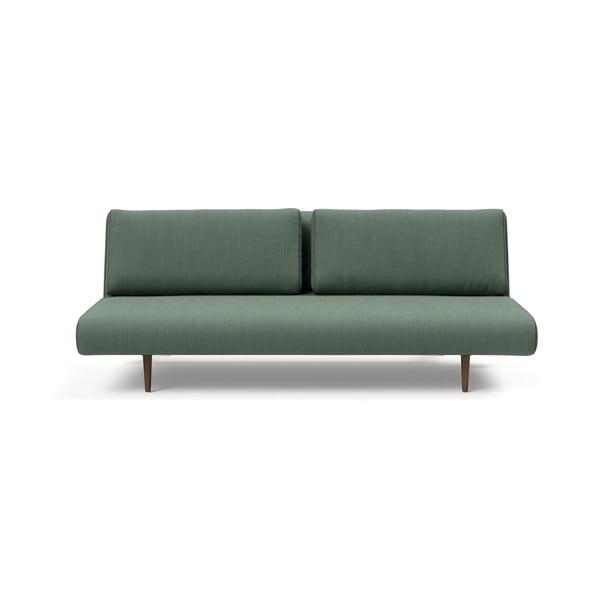 Zelená rozkladacia pohovka Innovation Unfurl Lounger Elegance Green
