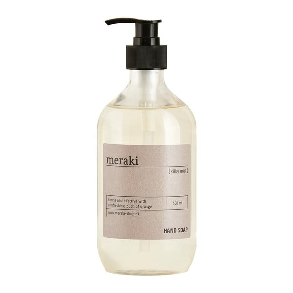 Tekuté mydlo na ruky Meraki Silky Mist, 500 ml