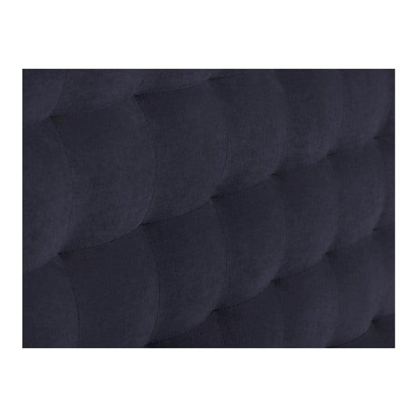Tmavě modré čelo postele Windsor & Co Sofas Nova, 200 x 120 cm