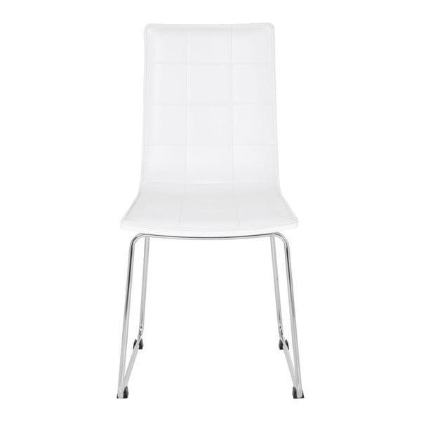 Sada 4 bílých jídelních židlí Kare Design High Fidelity