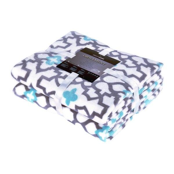 Marocco világosszürke mikroszálas takaró, 150 x 200 cm - DecoKing