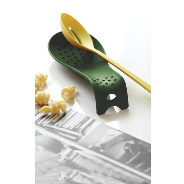 Suport pentru lingură Steel Function Roma, verde