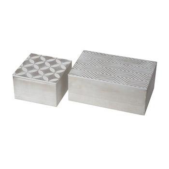 Set 2 cutii pentru depozitare Mauro Ferretti Coppia