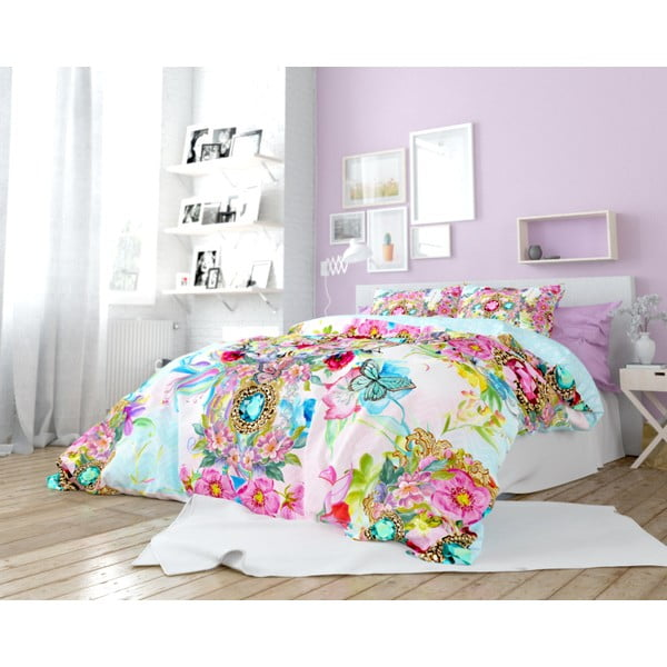 Lenjerie de pat din bumbac Dreamhouse So Cute Faith, 160 x 200 cm