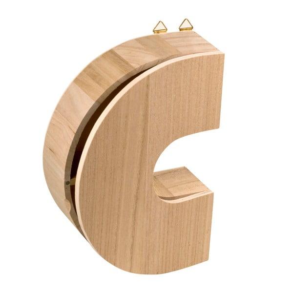 Nástěnný box Letter C