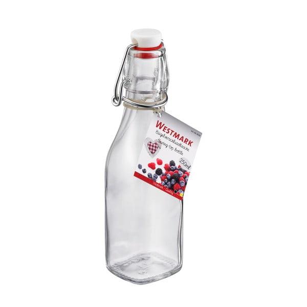 Skleněná lahev s uzávěrem Westmark, 250 ml