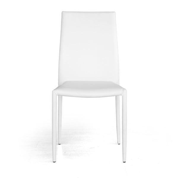 Jídelní židle Dani, bílá