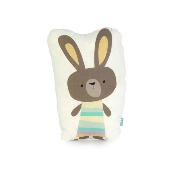 Polštářek Little W Rabbit, 40 x 30 cm