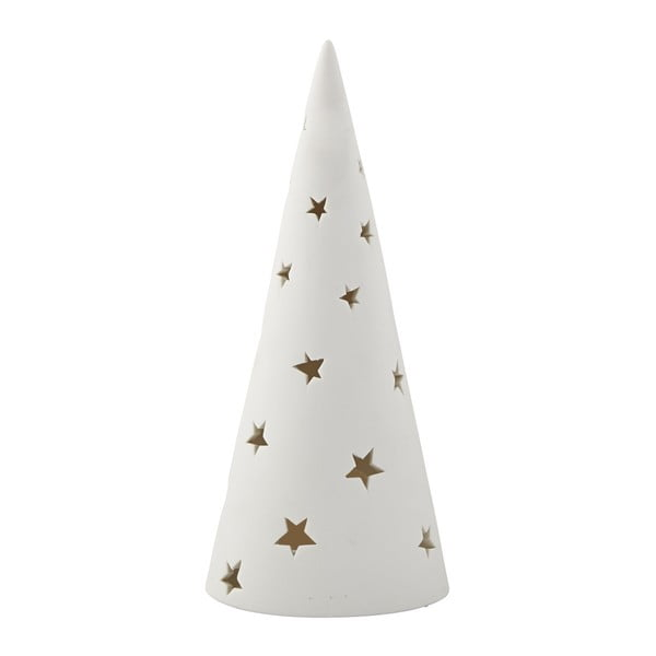 Svícen KJ Collection Tealight Holder Tree White, 28,5 cm