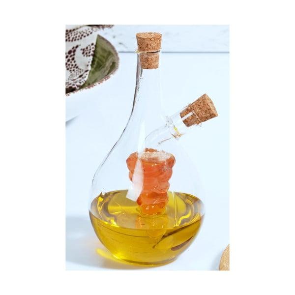 Skleněná láhev na olej Adronikos