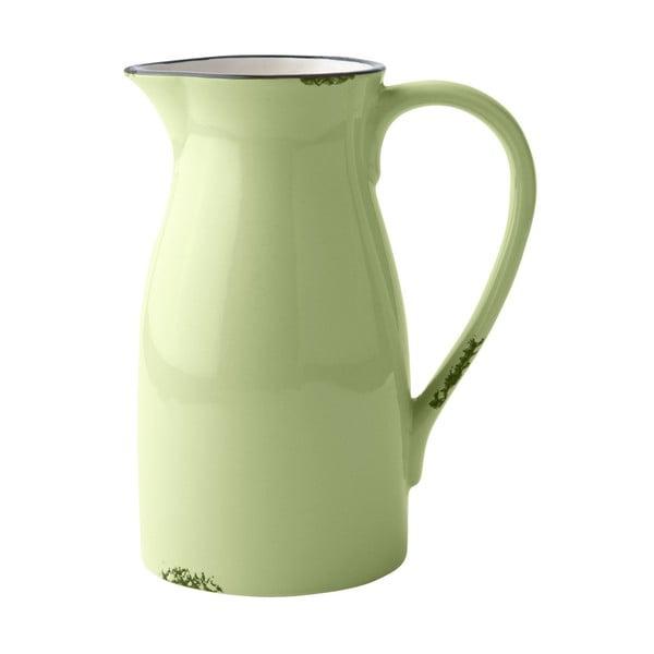 Keramická váza/konev, lime green